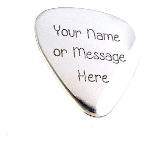 Guitar Pick - Custom Any Message - Selección Personalizada