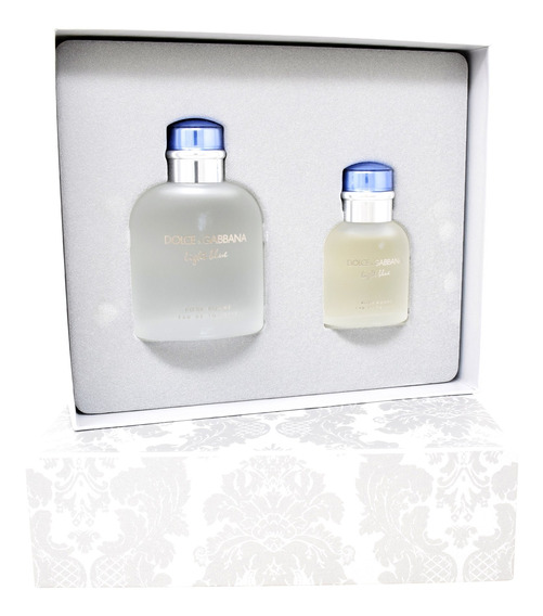 Set Dolce & Gabbana Light Blue 2pzs 125 Ml Edt Spray + 40 Ml