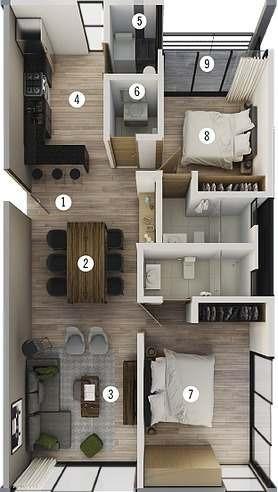 Exclusivo Departamento En Venta Tipo 1.1 En Condominio Viu Homes En Zibata