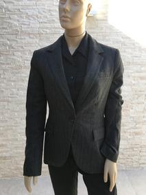 Blazer Feminino Cinza Chumbo Zara