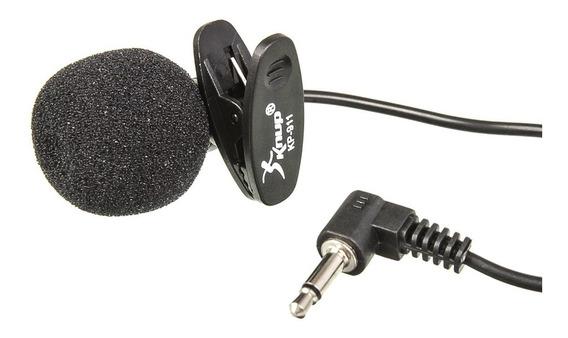 Microfone De Lapela Para Celular Smartphone Youtubers