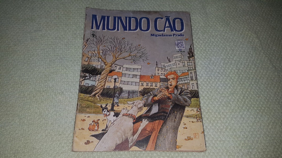 Hq Graphic Novel Nº 26 - Mundo Cão - Ed. Abril F. Álbum 1991