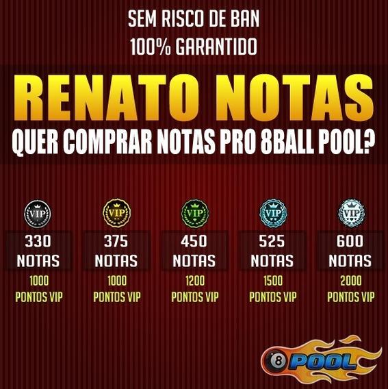 Notas 8 Ball Pool / Renato Notas