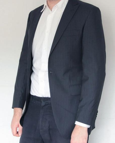 Blazer Japones Yoshino Yawata Lã E Seda Slim Perfeito