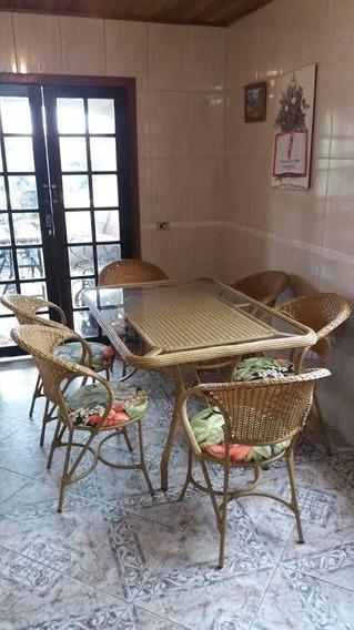 Conjunto De Mesa Com 6 Cadeiras Fábrica