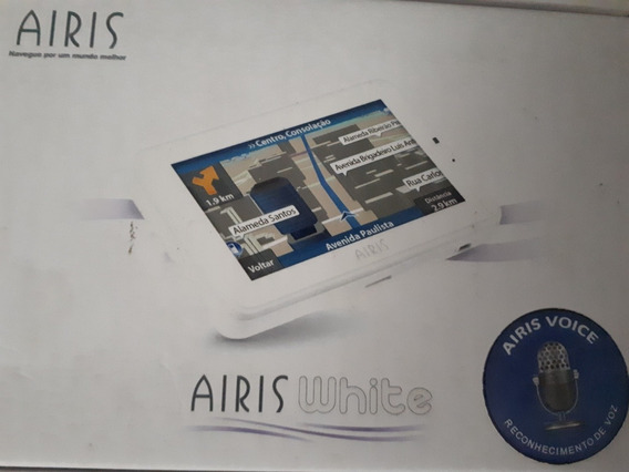 Navegador Gps Airis W4 Voice White Com Tela De 4,3 Touch