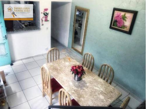 Sobrado Com 5 Dormitórios À Venda, 310 M² Por R$ 530.000,00 - Jardim Adriana - Guarulhos/sp - So0221