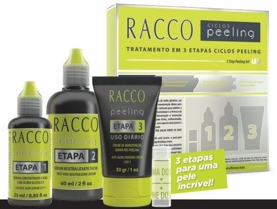 Clareia Manchas Melhora Rugas Ciclos Peeling Racco 3 Etapas