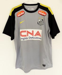 Santos 2014 Gg Nº 1 Nike Usada Em Jogo Original Zerada