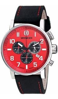 Reloj Wenger 01.1243.103 Swiss Made Agente Oficial Belgrano