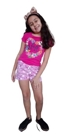 Lote Kit 8 Conjuntos Infantil Feminino Roupa Menina Tam 1 Ao 14 Atacado, Lindos E De Qualidade Por Preço Baixo Imbatível