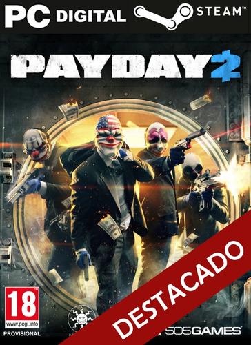 Payday 2 Pc Español + Online Steam Original