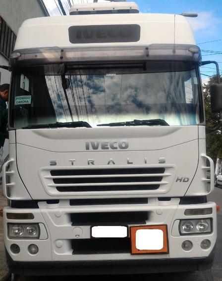 Iveco Stralis 420 6x2 Teto Alto - Un. Dono - Baixo Km - Novo