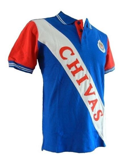 Playera Polo Chivas Caballero