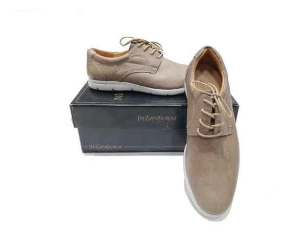 Zapatos Náuticos Yves Saint Laurent!! Local A La Calle!!