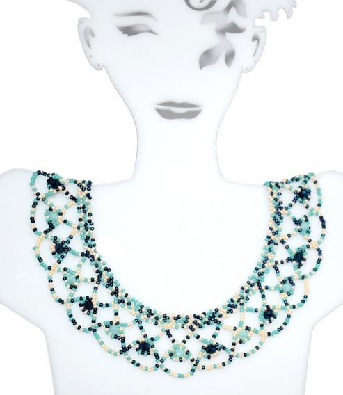 Collar De Chaquira Huichol