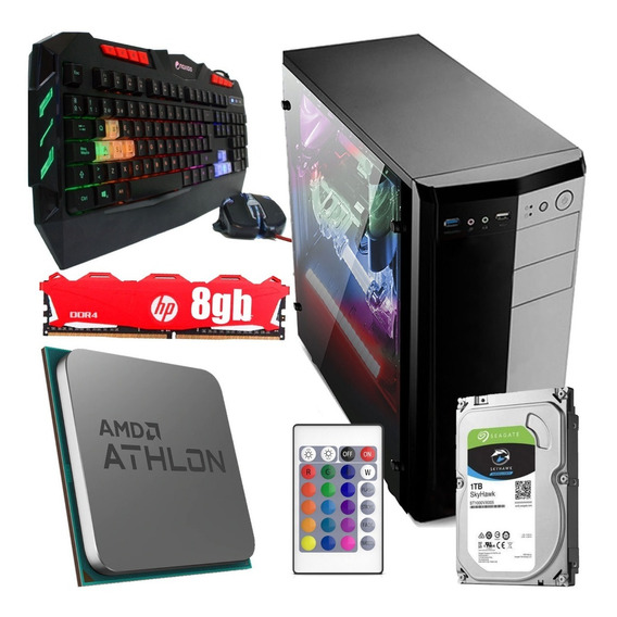 Pc Gamer Mc Armada Amd A8-9600 X10 Nucleos Video R7 Hdmi 1tb