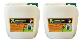 Liquido Concentrado Limpieza Inyectores, 2 Porrones 4lts