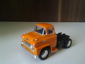 Miniatura De Caminhão Chevy 1958 Da M2, Escala 1:64