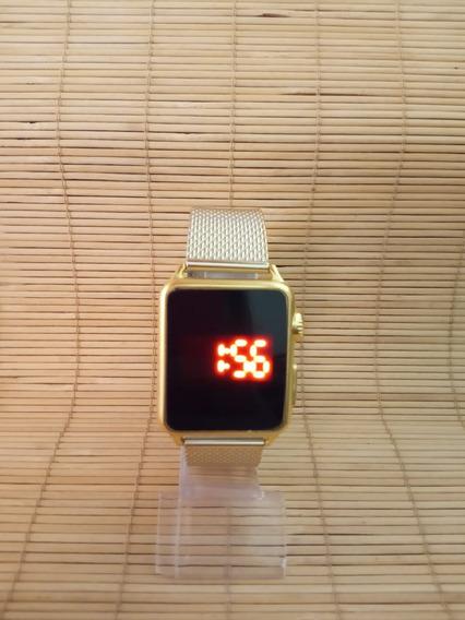 Relógio Digital Unisex Touch Led