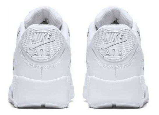 Tenis Nike Air Max 90 Ltr Blanco #2.5 Al 5 Mx Originales
