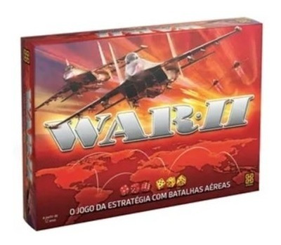 Novo Jogo De Tabuleiro War 2 - Grow Batalhas Aéreas