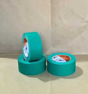 Masking Tape Verde De 48mmx50m (10 Piezas)