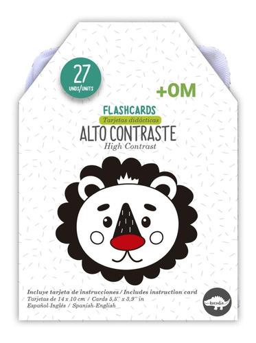 Imagen 1 de 5 de Flash Cards Alto Contraste - Kocodío
