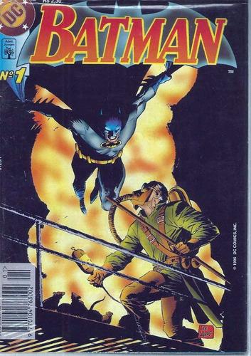 Batman 1 Dc Comics Abril 1996