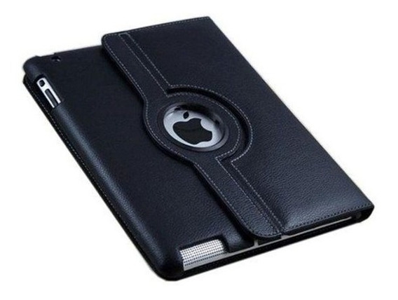Capa Case Couro Luxo Giratoria Para iPad 6 iPad Air 2