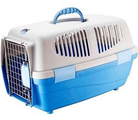 Caixa Transporte Pet Gulliver Tamanho 1 Porta Ferro Gato Cão