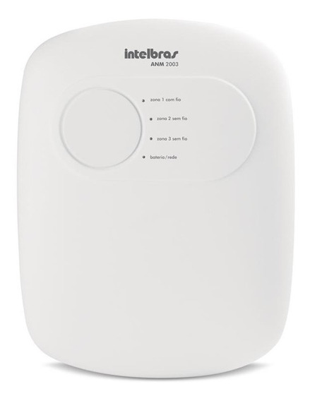 Central De Alarme Anm 2003 +sensor Intelbras Ivp 5001 Pet
