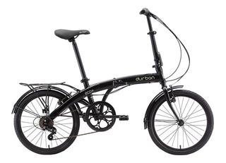 Bicicleta Dobrável Aro 20 Carbono 13kgs Durban Eco+ Preta