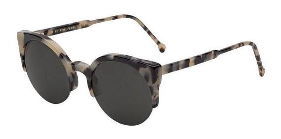 Óculos De Sol Com Armação Puma E Lente Preta