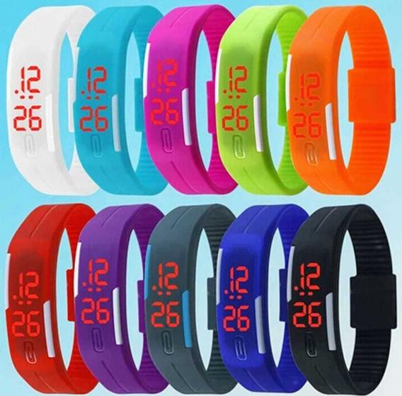 Promoção Braceletes Led Digital Aproveite Várias Cores