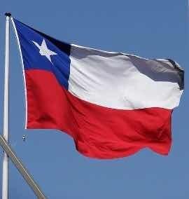 Bandera Chilena 60x90