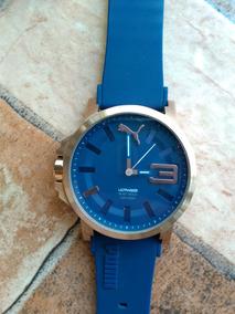 Relógio Puma Ultrasize Azul, Original, Novinho