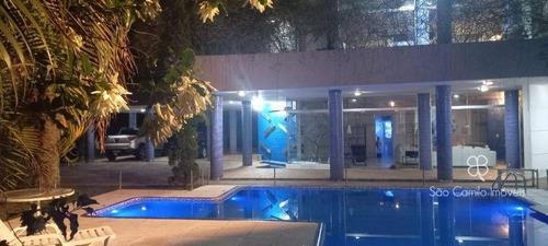 Casa Com 4 Dormitórios À Venda, 700 M² Por R$ 1.950.000,00 - Granja Viana - Carapicuíba/sp - Ca2152