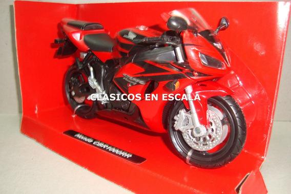 Honda Cbr1000rr - Color Rojo - Moto New Ray 1/12