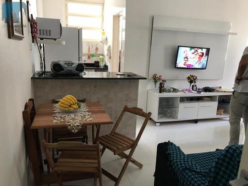 Apartamento A Venda No Bairro Centro Em Guarujá - Sp.  - 796-1