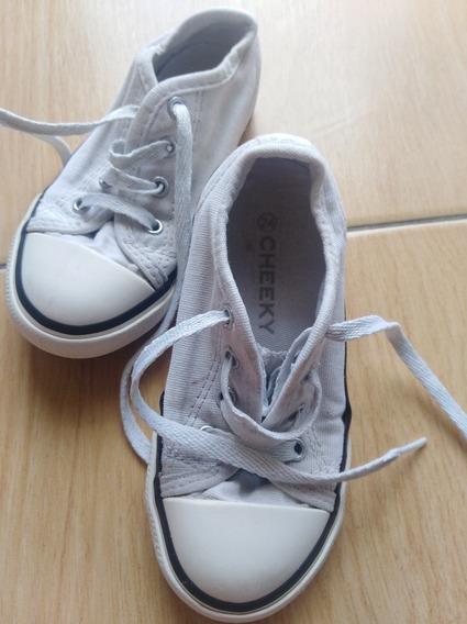 Zapatillas Niño Cheeky Blancas