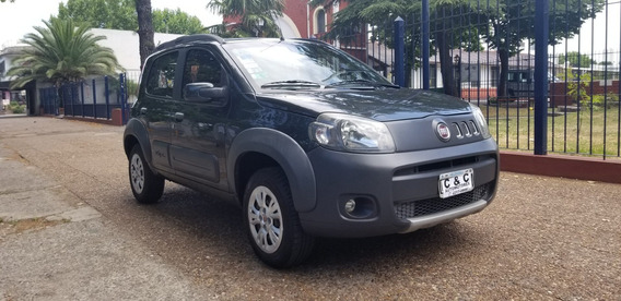 Fiat Uno Novo Way Full Gris 2012