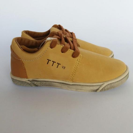 Tênis Tigor T Tigre Caramelo Ttt93 Infantil Masculino 667401