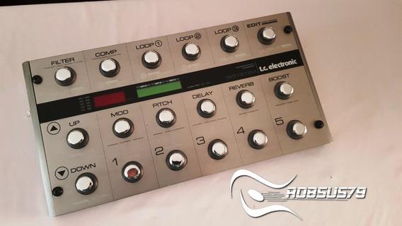 Pedaleira Guitarra Tc Electronic G System