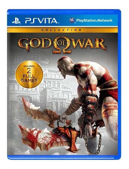 God Of War Collection - Ps Vita - Usado - Original