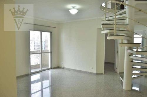 Cobertura Com 2 Dormitórios À Venda, 110 M² Por R$ 1.350.000,00 - Vila Olímpia - São Paulo/sp - Co0027