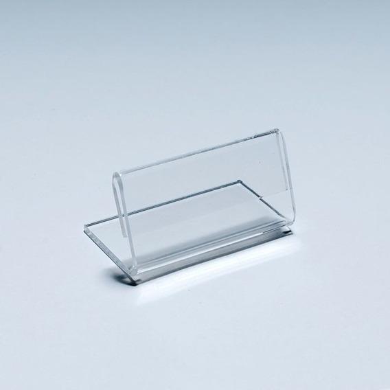 Porta Preço Em Acrílico 4,5x6cm Kit 50 Peças