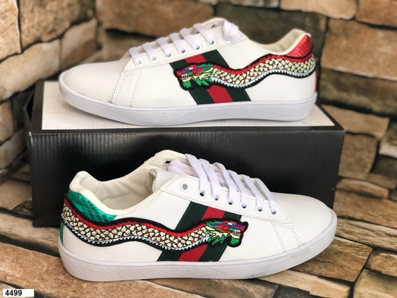 Gucci Sneakers Embroidered