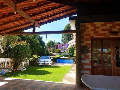 Chácara Com 3 Dormitórios À Venda, 1000 M² Por R$ 590.000,00 - Aparecidinha - Município De Araçariguama/sp - Ch0085