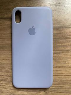 Capinha iPhone Xs Max Original Apple Silicone Otimo Estado